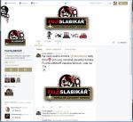 Diwous - FUJ!SLABIKÁŘ - Fanclub na Twitteru, fanklub, fans, fanoušci, parodie, napodobenina, slabikář, brutál, krev, násilí, Žáček, Ema mele, máma, motorová pila, karikatura, kreslený komiks, Twitter