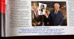 Diwous - FUJ!SLABIKÁŘ - prezident Miloš Zeman - časopis, motorová pila, brutální, krev, Ema, komiks, kreslený, karikatura