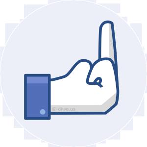 Diwous - Facebook Reactions - Fuck Off, like or dislike
