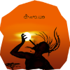 Diwous, Afrika, Sahara, akát, akácie, západ slunce, Maroko, silueta, divoch, pohan, barbar, doutník