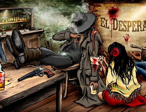 El Desperado – Mexico, photoillustration