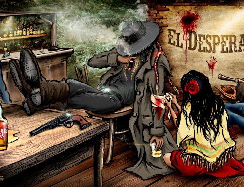 El Desperado – Mexico, photoillustration