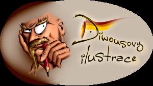 Diwous - Ilustrace logo