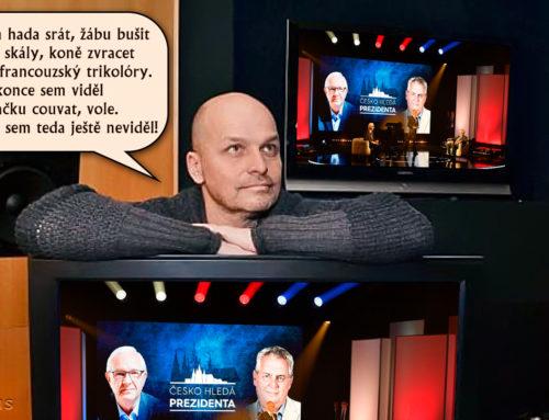 Zdeněk Pohlreich – Prezidentská debata 2018